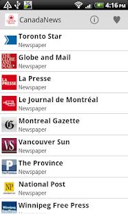 Canada Newspaper