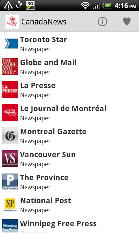 Canada Newspaper - Android Apps on Google Play
