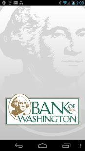 Bank of Washington- screenshot thumbnail