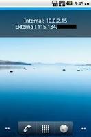Screenshot of Show IP Widget