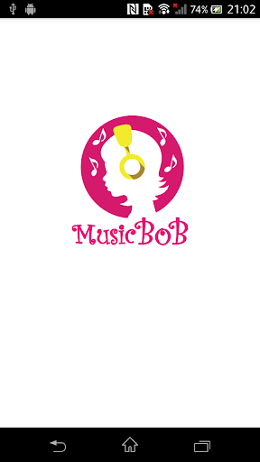 音楽プレーヤー musicbob
