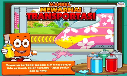 Marbel Mewarnai: Transportasi