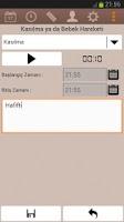 Screenshot of Easy Pregnancy Tracker
