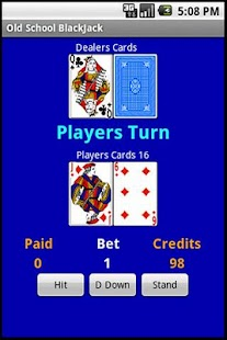 Free Old School BlackJack - screenshot thumbnail