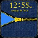 Blue Jean Zipper Go Locker icon
