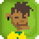 Brazil Soccer Sliding Tackle icon