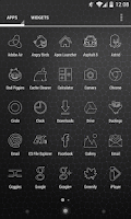 Screenshot of Trace - Icon Pack