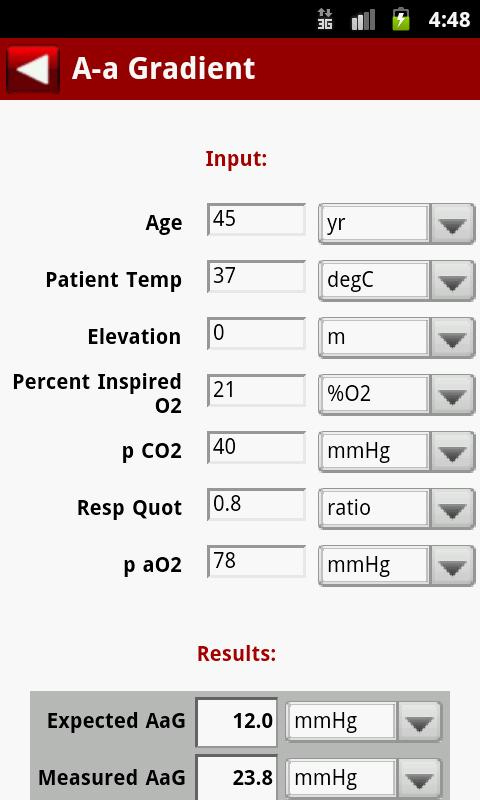 MedCalc 3000 Complete Screenshot 2