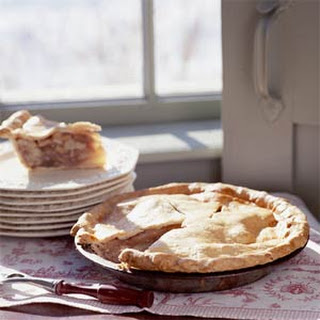 Pear, Walnut, and Maple Syrup Pie Recipe