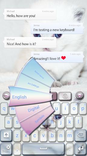 Cute Kitty GO Keyboard