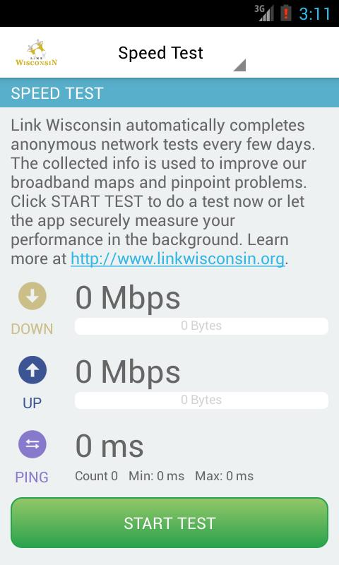 LinkWISCONSIN Mobile Test - screenshot