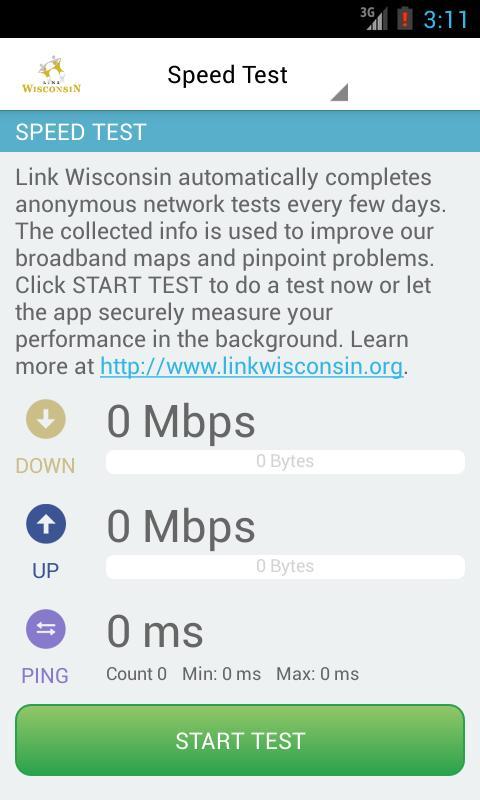 LinkWISCONSIN Mobile Test - screenshot