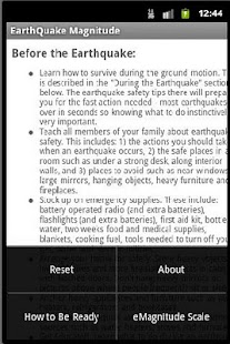 Earthquake Magnitude - screenshot thumbnail