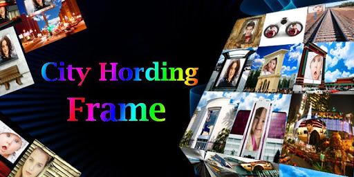 City Hoarding Frame