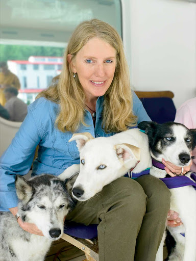 Libby-Riddles - On some Princess Cruises itineraries, guests get an exclusive opportunity to spend an hour hearing the inspiring story of Libby Riddles as she recounts her journey to become the first woman Sled Dog Race champion.