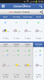 Wetter App - screenshot thumbnail