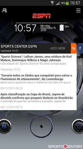ESPN Start - Sports Center Screenshot