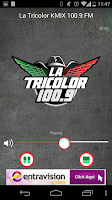 Screenshot of La Tricolor 100.9