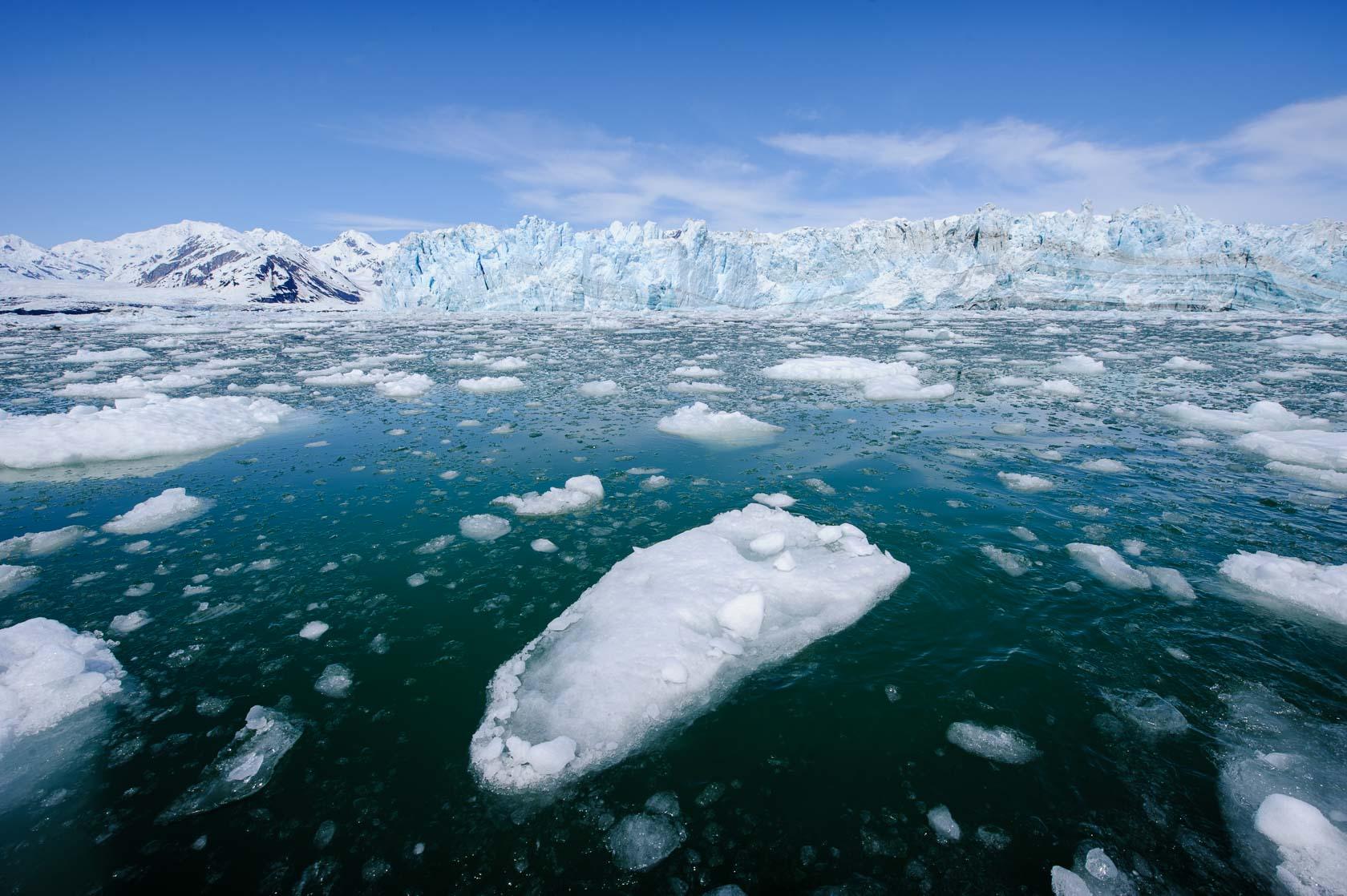 The Hubbard Glacier, Yakutat, Alaska