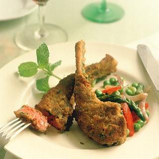 Parmesan Herb Lamb Chops