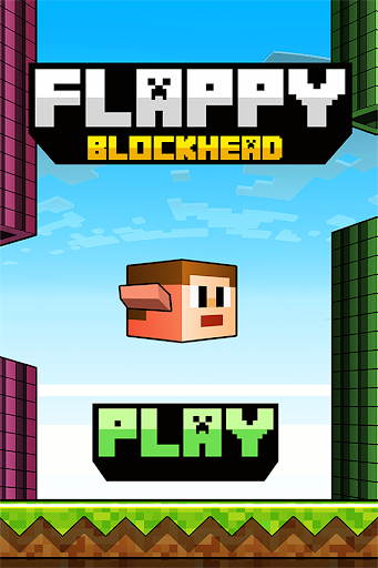 Flappy Blockhead - Craft Flyer