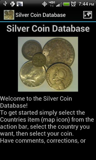 Silver Coin Database
