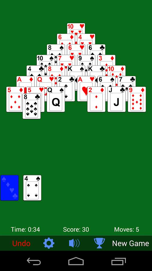 kartenspiele pyramide