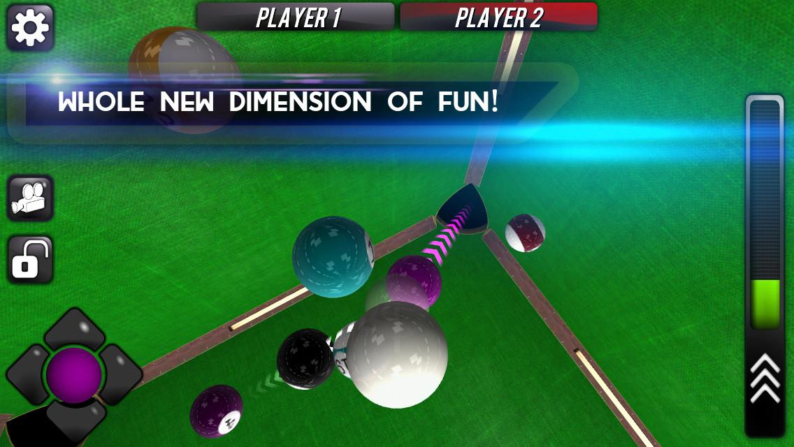 Space Pool 3D- screenshot