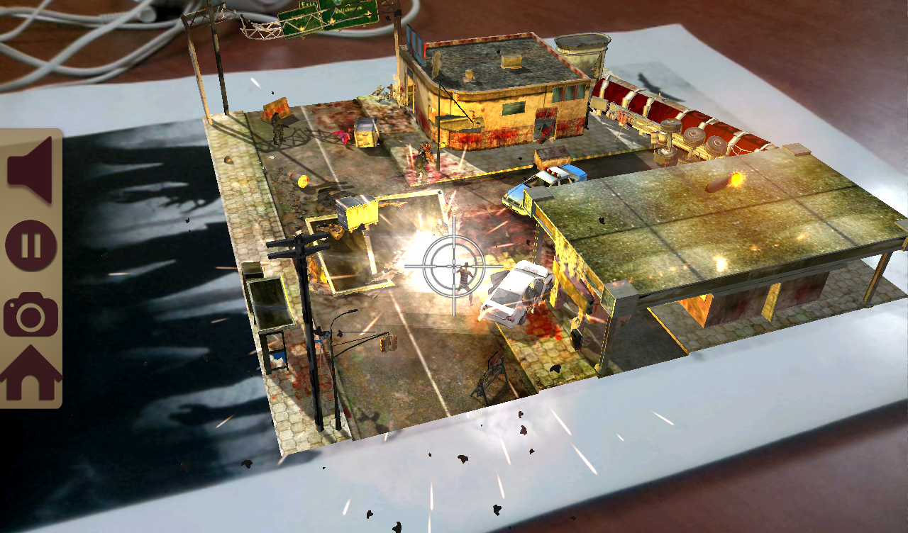TableZombies Augmented Reality – képernyőkép