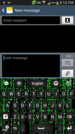 Matrix keyboard