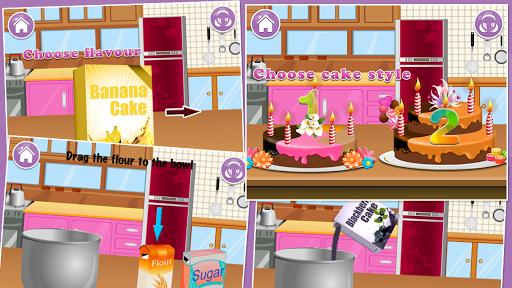 ケーキメーカー - 子供のためのゲーム