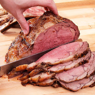 Perfect Prime Rib With Red Wine Jus