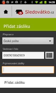Sledovátko.cz - screenshot thumbnail