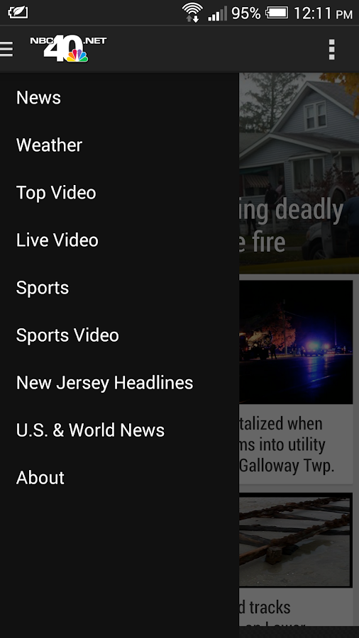 NBC40 News - screenshot