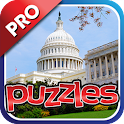 USA City & Landmark Puzzle Pro icon