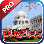 USA City & Landmark Puzzle Pro