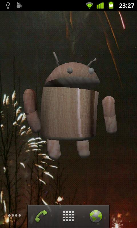 Brainy Droid Live Wallpaper - screenshot