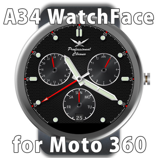 A34 WatchFace for Moto 360