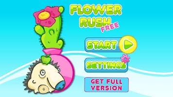 Screenshot of Flower Rush HD