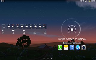 Screenshot of YoWindow Free Weather