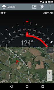 Bearing - Android wear compass- screenshot thumbnail