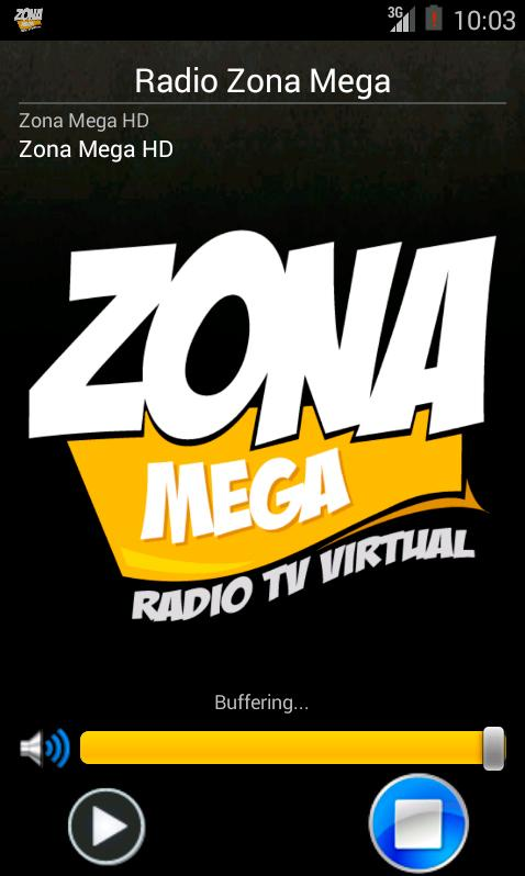 Radio Zona Mega- screenshot
