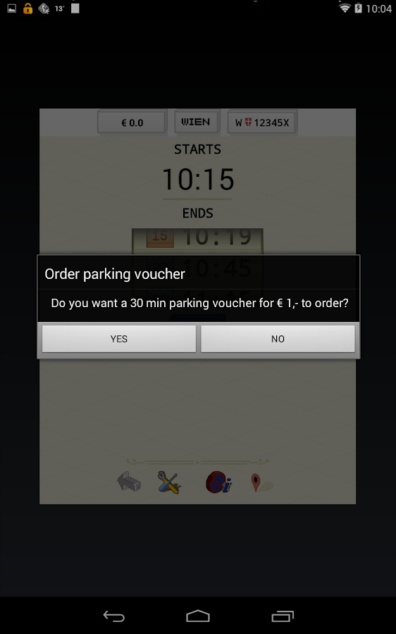 paperless.Parking -  Vienna - screenshot