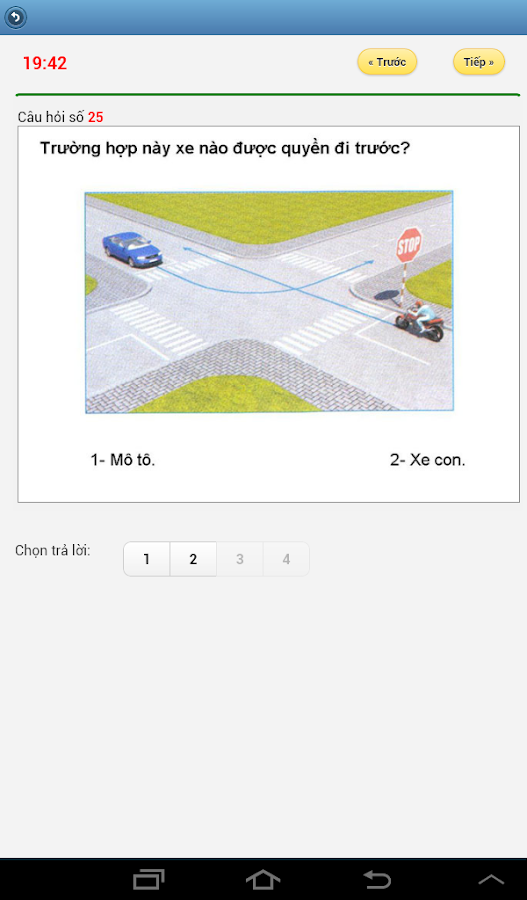 Luyện thi giấy phép lái xe- screenshot