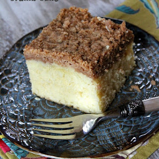 Martha's Classic Crumb Cake