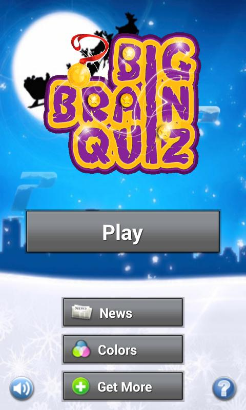 Big Brain Quiz GOLD - screenshot