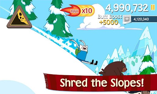 Ski Safari: Adventure Time - screenshot thumbnail
