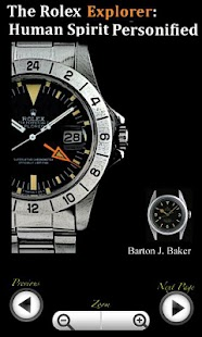 Rolex Explorer Encyclopedia - screenshot thumbnail