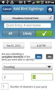 BirdLog North America - screenshot thumbnail