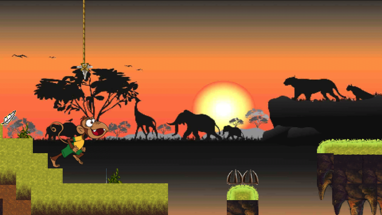 Monkey Run - screenshot
